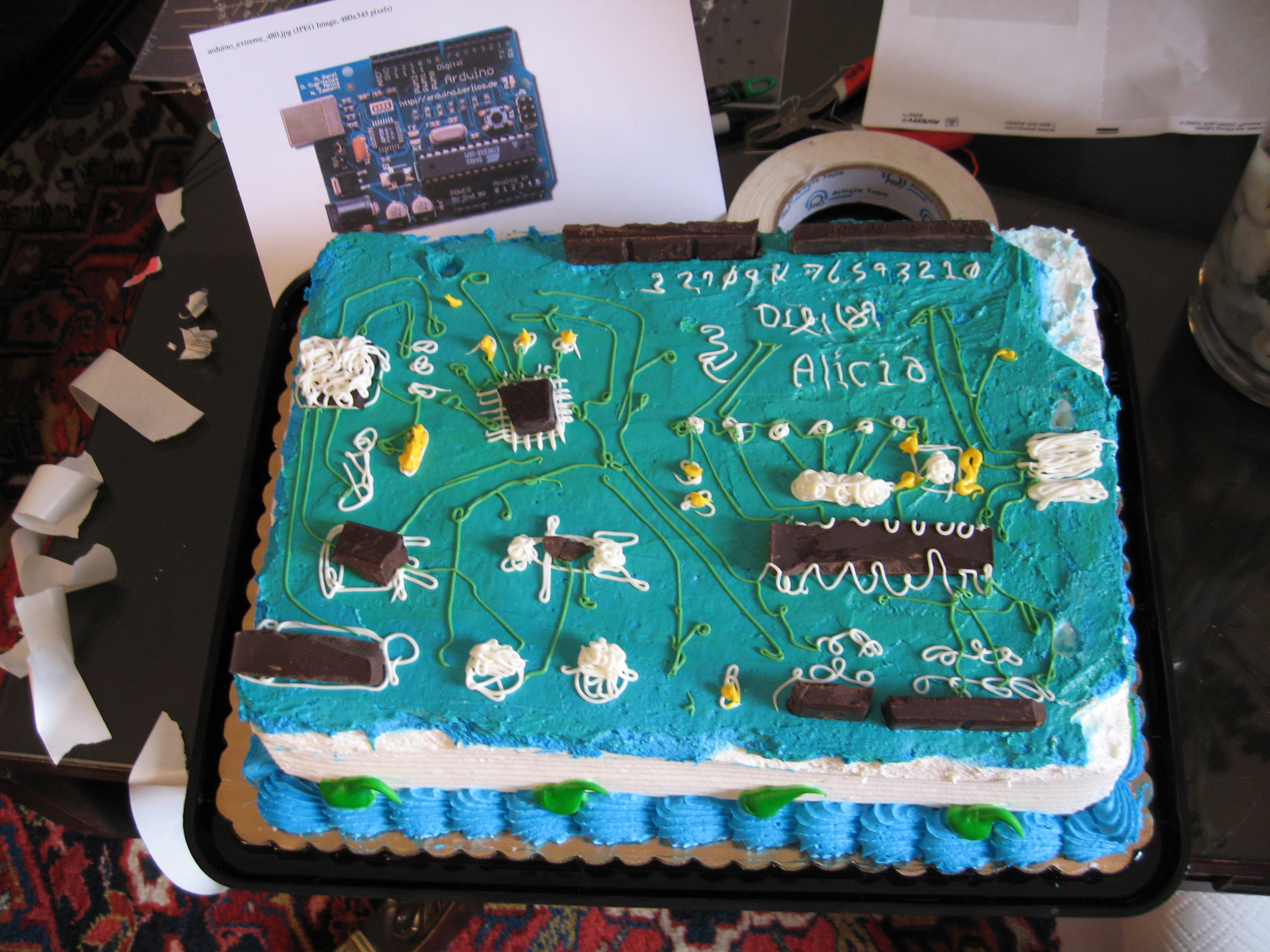 cake from NYCresistor