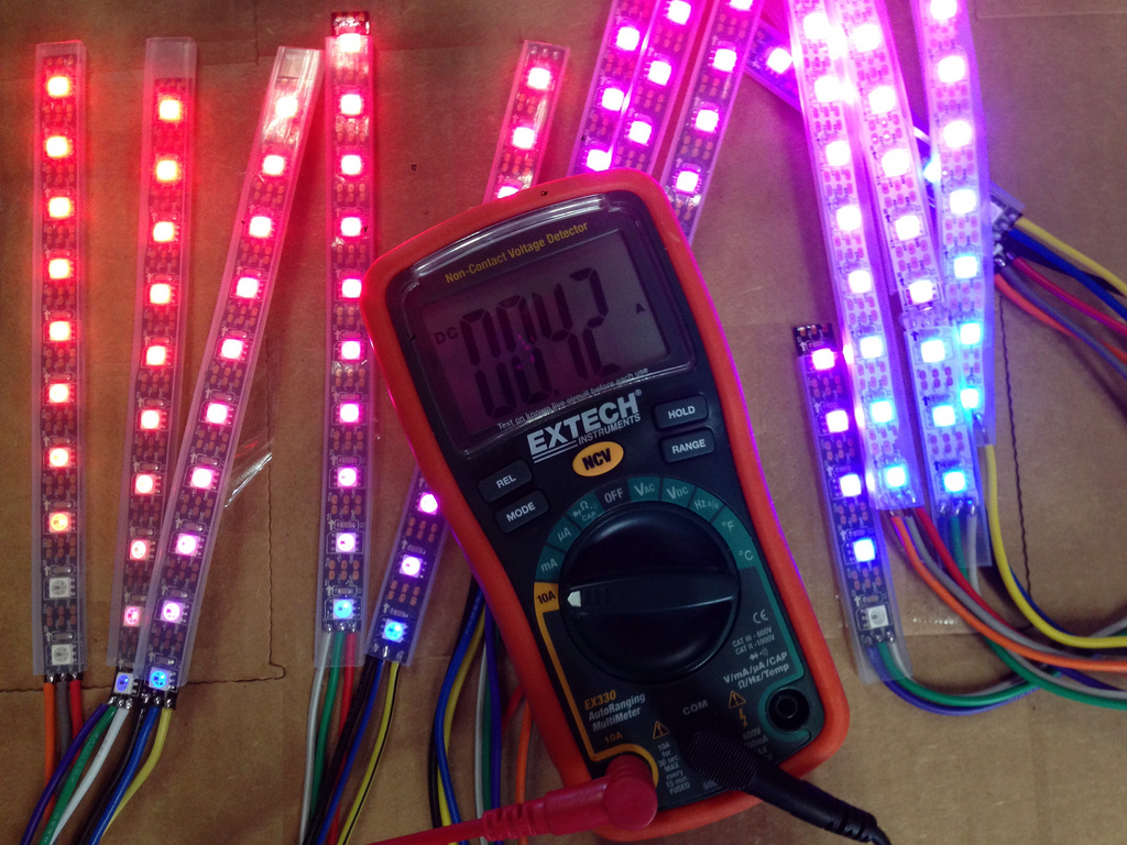 Multimeter amperage measurement