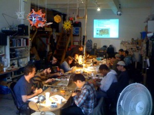 NYCresistor soldering and arduinos class is awesome!