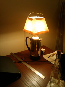 Percolator Lamp