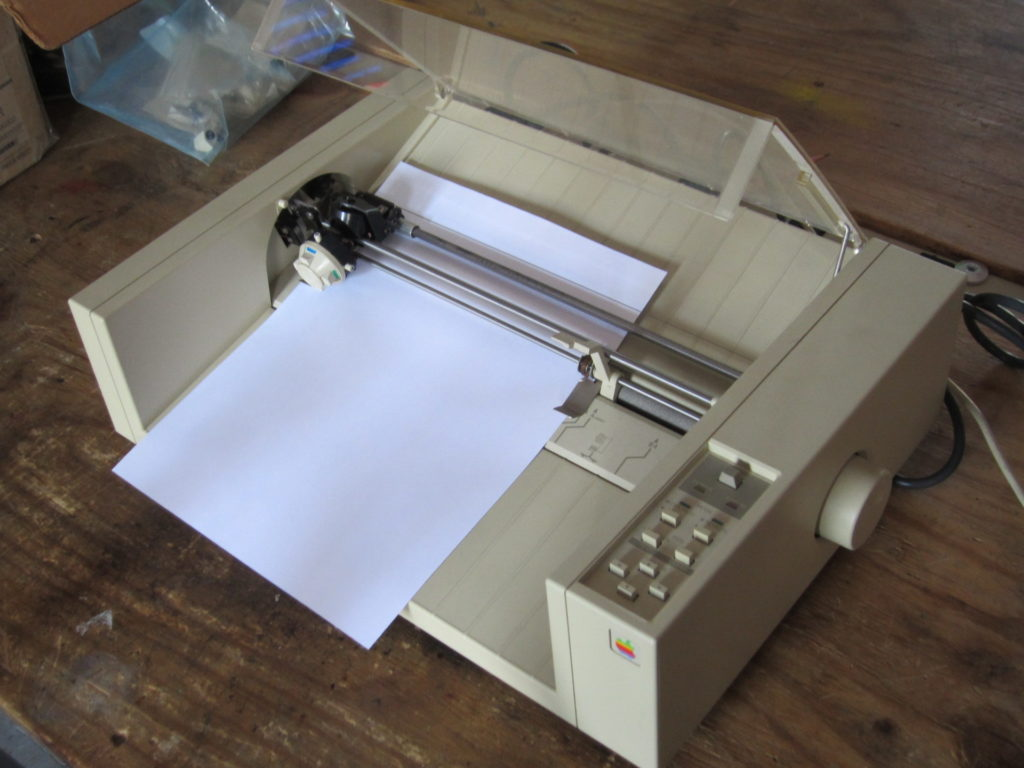 apple 410 plotter
