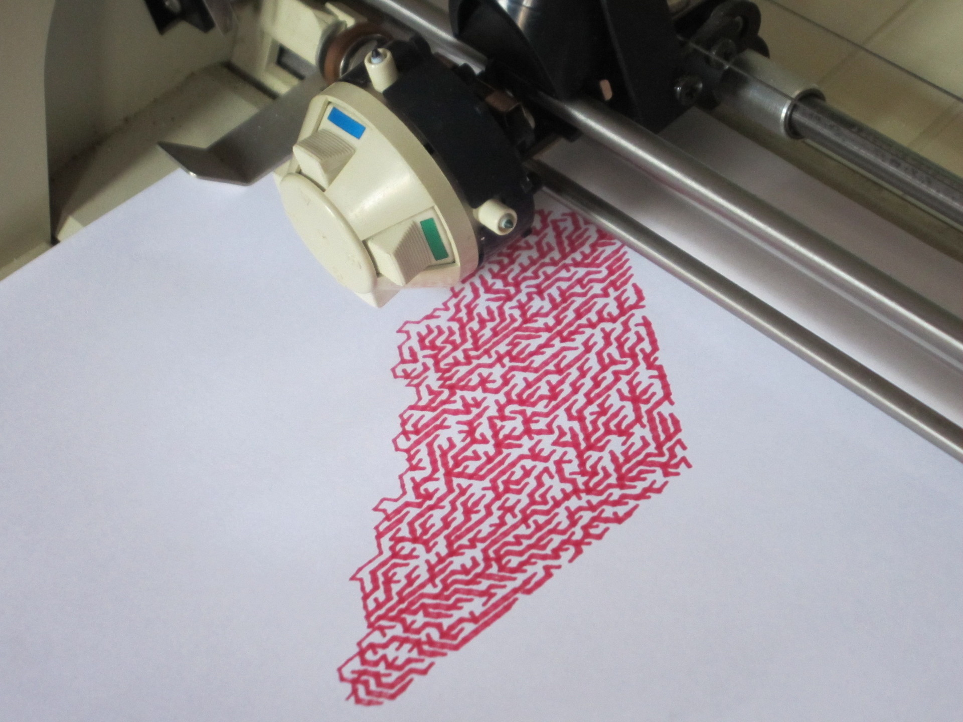 apple 410 color plotter » NYC Resistor